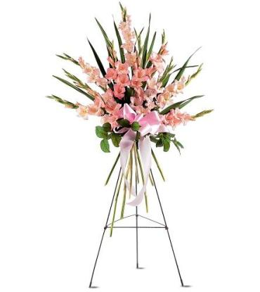 Sentimental Gladioli Spray<br>