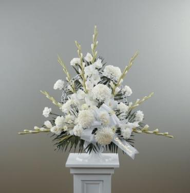 White Pedestal Arrangement<br>CTT12-11