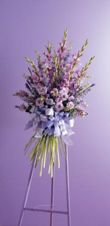Purple and Lavender Standing Spray<br>CTT54-11