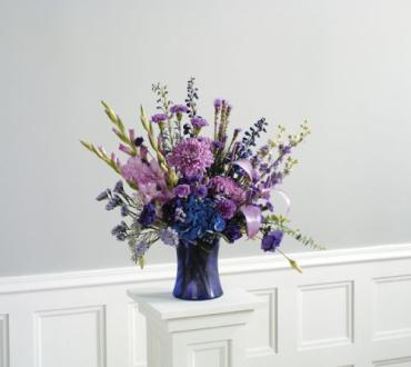 Lavender and Purple Vase<br>CTT 50-11