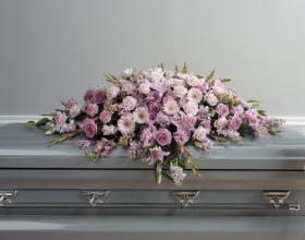 Pink Full Casket Spray<br>CTT62-11
