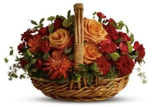 SPANISH GARDEN BASKET<br>Item#TFWEB323