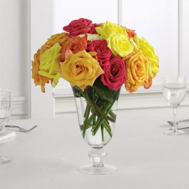 Rose Vase Centerpiece