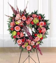 Eternal Rest Heart Wreath<br>S8-3142