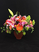 orange mixed arrangement