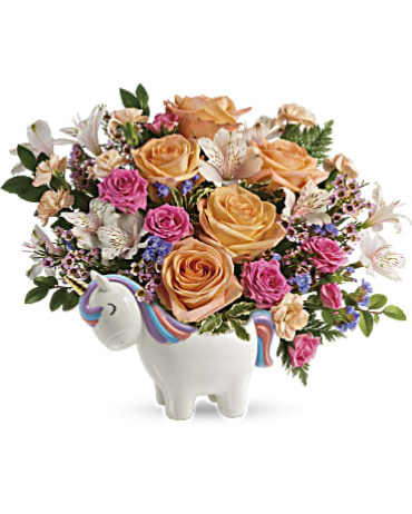 Teleflora\'s Magical Garden Unicorn Bouquet