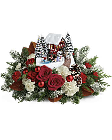 Thomas Kinkade\'s Snowfall Dreams Bouquet<br>T18X200A
