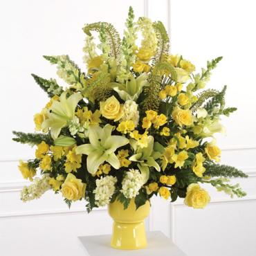 Yellow Altar Arrangement