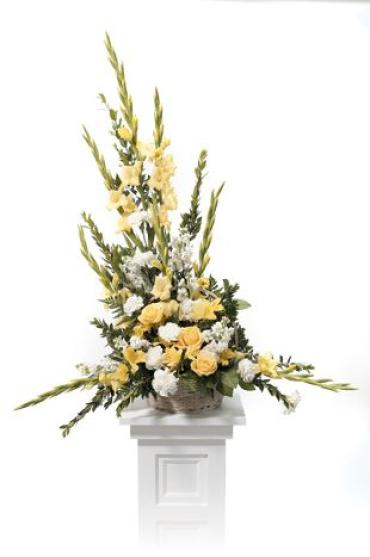 Yellow Basket Arrangement<br>CTT 39-21