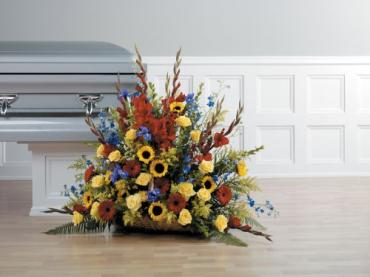 Mixed Fireside Basket Arrangement<br>CTT 82-21