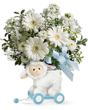 Sweet Little Lamb - Baby Blue<br>TNB05-1A