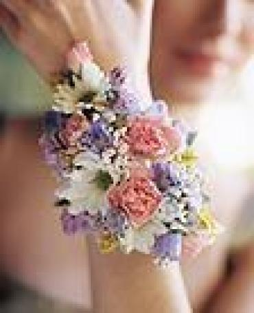 Spring Colors Corsage