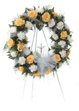 Yellow Rose Wreath<br>CTT 39-11