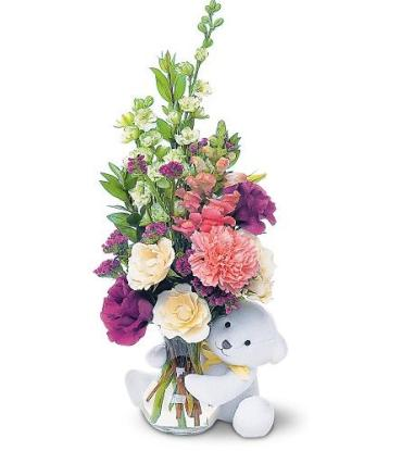 Bear Hug Bear with Roses <br> TF47-3