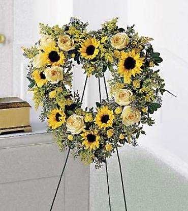 Forever Heart Wreath<br>S10-3181