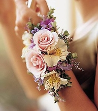 Mixed Pastel Corsage